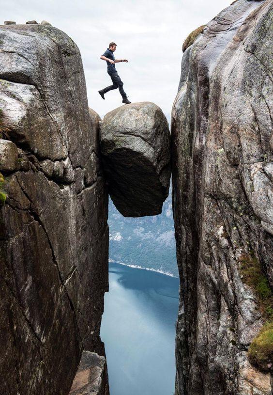 Kjerag, Kjerag bolt, Norway, views, hiking, rock (Credit: Daniel Hug)