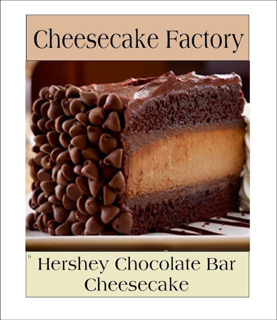 Pinterest • The world's catalog of ideas Cheesecake Factory Chocolate Cheesecake Recipe