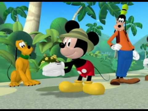 Clubul Lui Mickey Mouse Safari In Jungla Cu Mickey Si Minnie Batem Palma Si Hop Hop Youtube Pluto The Dog Character Mario Characters
