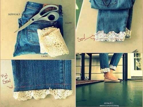 Arreglo de jeans