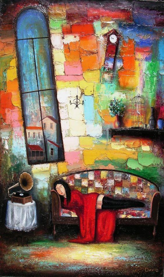 David Martiashvili(1978~)「Sleeping Girl」