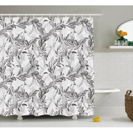Enhance The Look Of Your Bathroom With Trendy Shower Curtain Rods Trendy Shower Curtain Modern Bathroom Design
