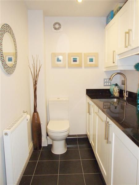 Utility room and cloakroom downstairs toilet pinterest for Small loo ideas