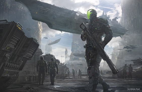 Sci-Fi Art: Battle Prep - 3D, Concept art, Digital paintingsCoolvibe – Digital Art