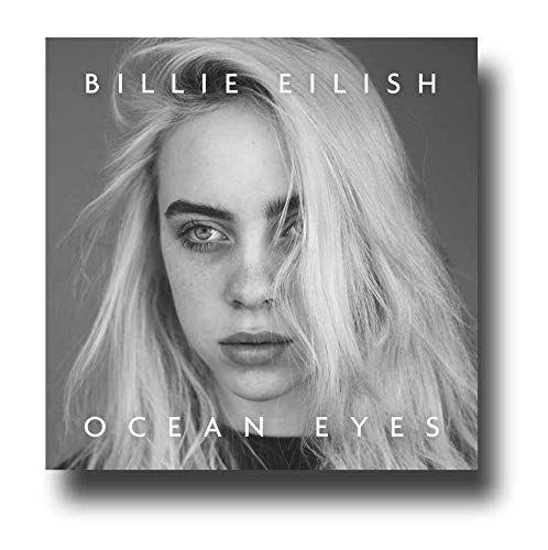 Billie Eilish Poster Concert Promo 11 X 11 Inches Ocean Eyes Gray Square In 2020 Billie Eilish Billie Concert