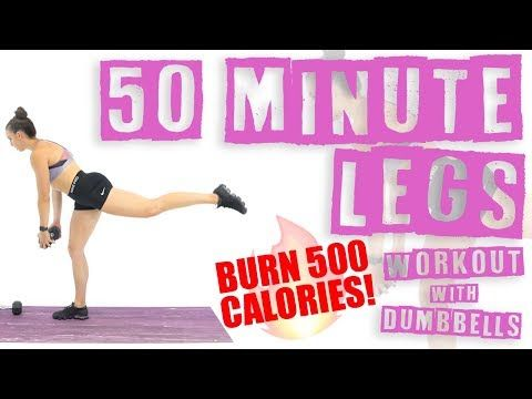 Hey My Name Is Sydney Cummings And I Am A Nasm Certified Personal Trainer And Fitness Nutrition Specia Dumbbell Workout Burn 500 Calories Hiit Workout At Home