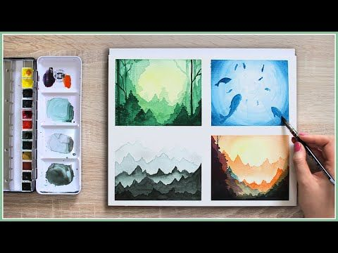 Make Your Watercolor Painting Look Magical With These Easy