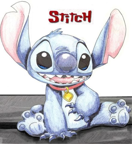 Disney's Stitch...... Know someone who looks like this...lol