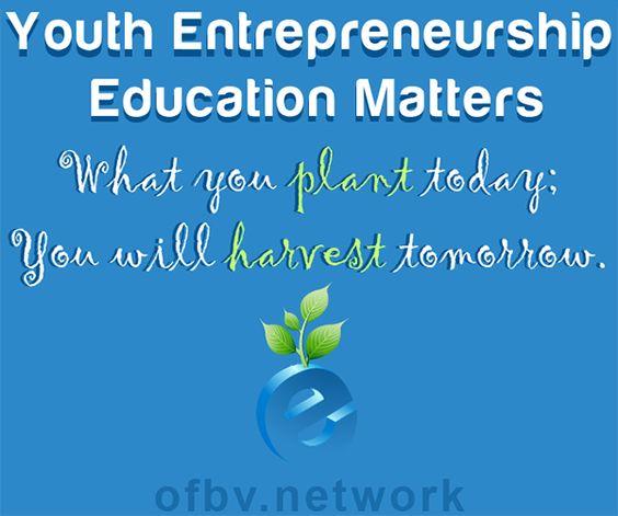 Open for Business Ventures: Youth Entrepreneurship Education