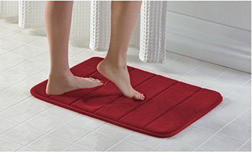Comfort Anti Fatigue Memory Foam Bath Mat Non Slip Bathroom Rugs