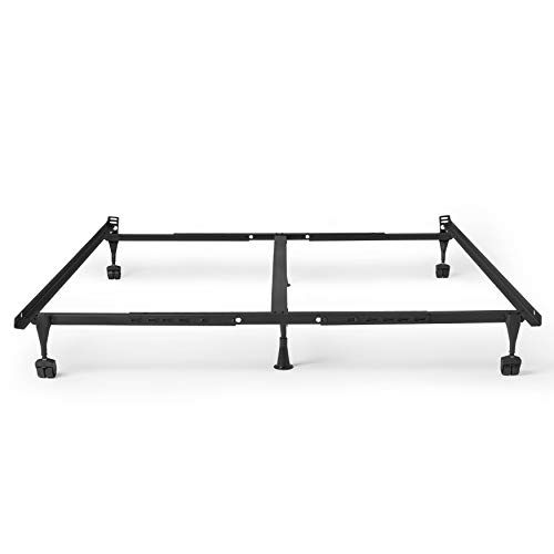 14th Mobility Adjustable Queen King Size Bed Frame Solid Steel