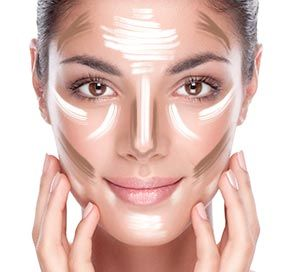 Siehe anhand von deiner Gesichtsform, wie du Konturen richtig setzt - für ein wunderschönes Gesicht das deine Vorzüge unterstreicht und kleine Makel kaschiert. Los, let's contouring!