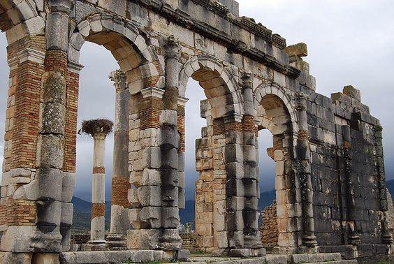 Volubilis Roman Ruins In Morocco Interesting