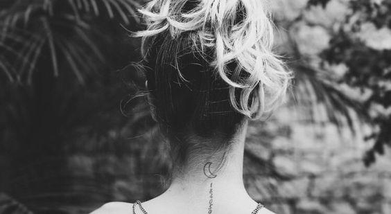 Tattoo de lua