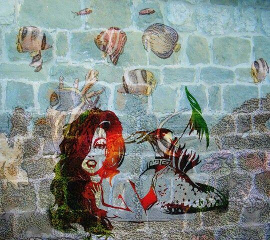 Graffiti Photos - The little Mermaid