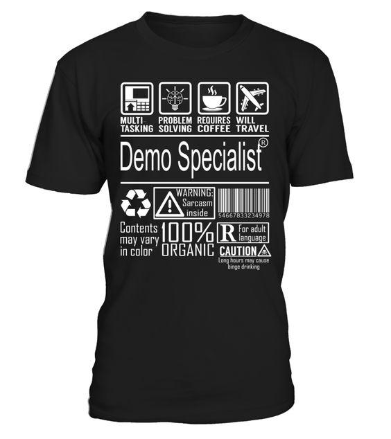 Demo Specialist - Multitasking