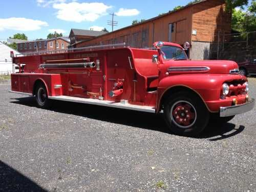 1951 Ford American Lafrance Fire Truck Fire Trucks On