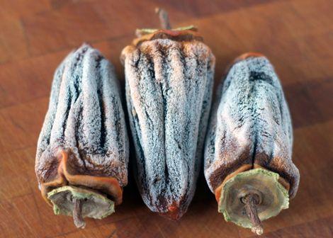 hoshigaki (dried hachiya persimmons)