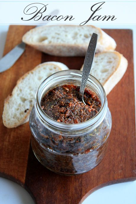 A second recipe for bacon jam!