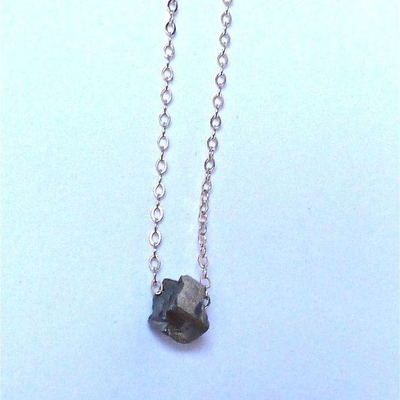 Pyrite Necklace == Alana Douvros Jewelry  Jewelry - Daily Deals 