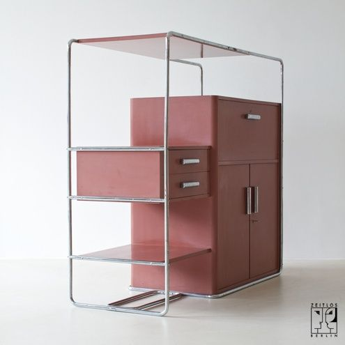 Rare Bauhaus Cabinet By Bruno Weil For Thonet Zeitlos Berlin Bauhaus Interior Bauhaus Furniture Bauhaus Design