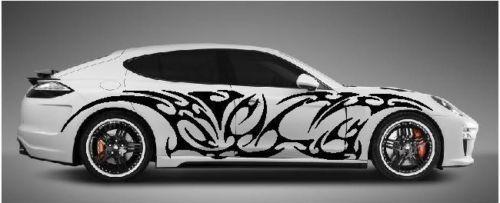 GIANT TRIBAL SIDE CUSTOM CAR GRAPHICS DECAL STICKER VINYL TRUCK - Custom car graphics