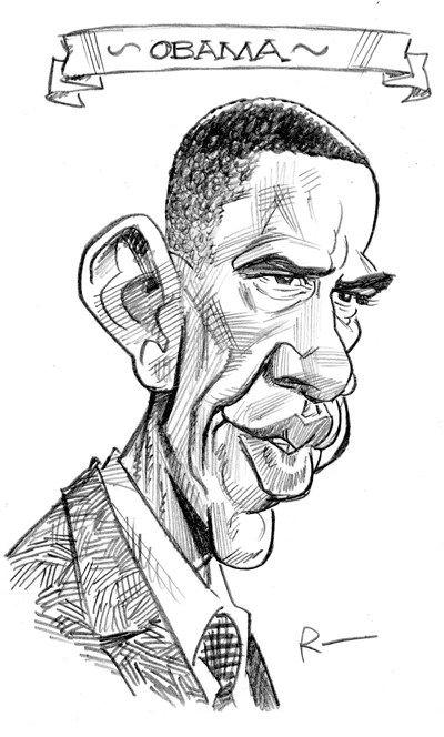 33+ Obama sketch ideas in 2021