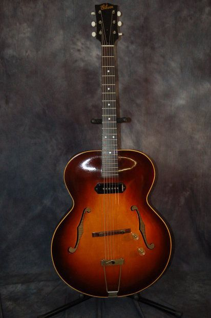 Vintage RARE Gibson ES 150 1947 Sunburst P90 Origina Geib Hardshell Case | Reverb.com. Give us a call. Lawman Guitars 515-864-6136