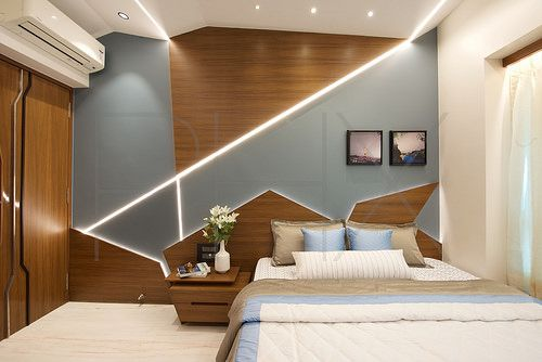 An Origami Inspired Modern Contemporary Interior Design Apartment Apartment Interior Design Cozy Bedroom Design Apartment Interior