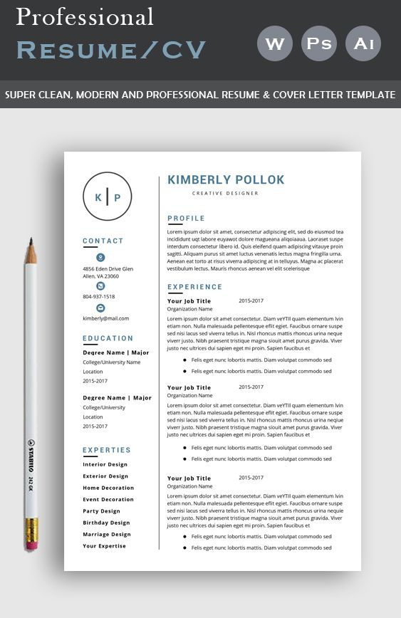 Resume Template Professional Resume Template Instant Download Resume Template Word Cv Cv Template Resume Template Free In 2020 Resume Template Professional Resume Template Word Resume Template