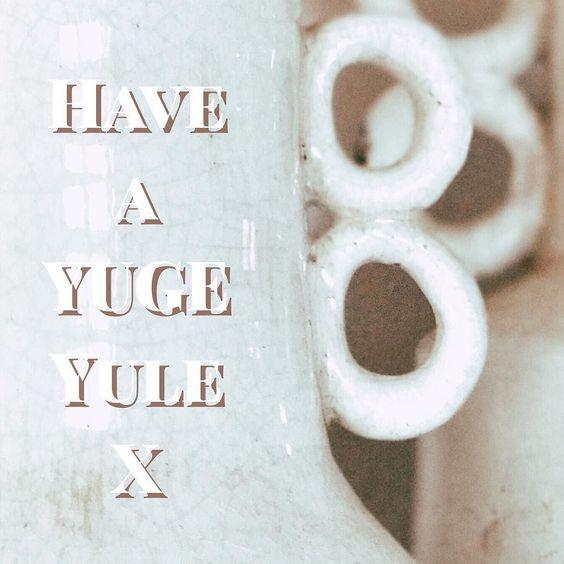 #YUGEyule