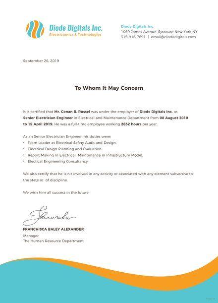 Preschool Leaving Certificate Template Google Docs Illustrator Word Apple Pages Psd Publisher Template Net Certificate Templates Work Reference Letter Certificate Format