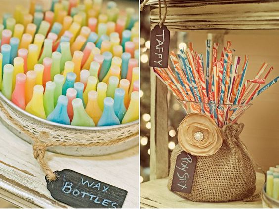 DEKO Vintage Candy Bar