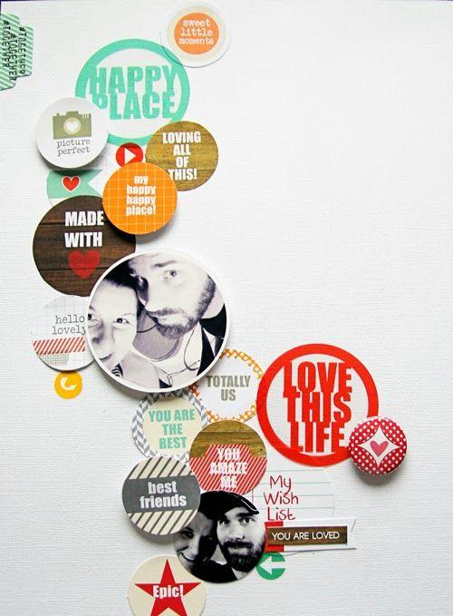 Mandy Koeppen for Chic Tags - Circles, Circles & Him (8.5x11 Layout)