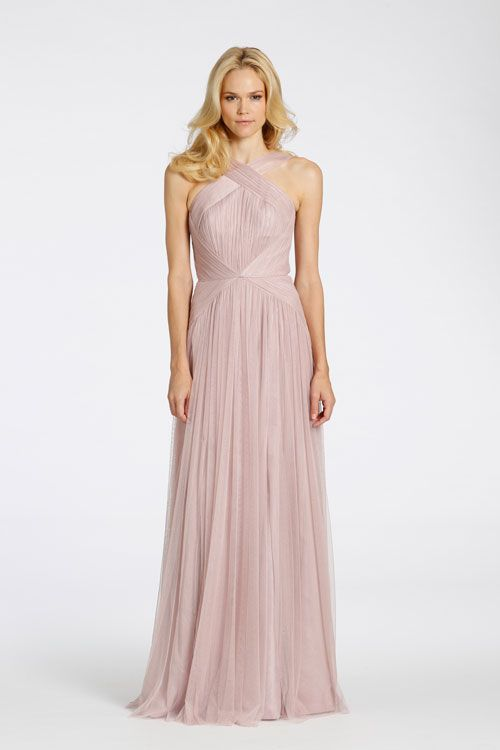 Grecian Style Bridesmaid Dress - Ocodea.com