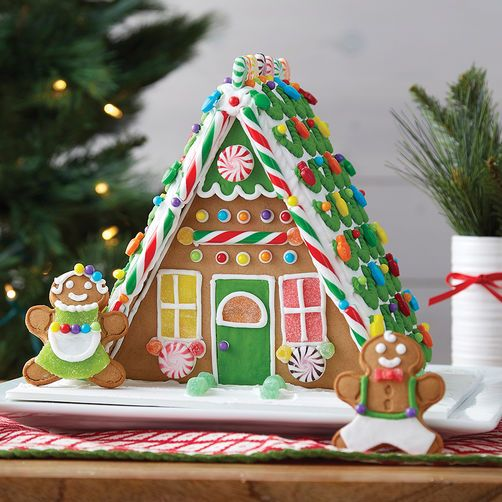 a frame gingerbread house template  A Plus A-Frame Gingerbread House in 7 | Christmas ...