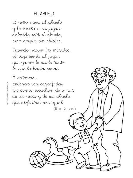 Menta Más Chocolate - RECURSOS PARA EDUCACIÓN INFANTIL: Poesías sobre la FAMILIA
