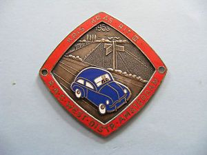 Lovely 1953 Car Rally Badge Kris Kras Rit III Royal Automobile Club Dutch GC | eBay