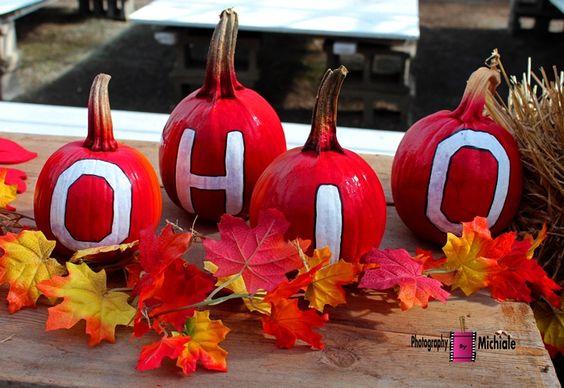 Ohio State Pumpkins #ohiostate #pumpkin