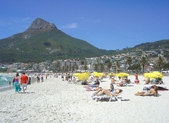 Cape Town, South Africa Beach