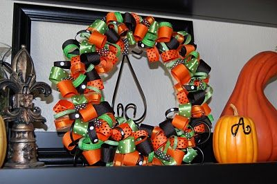 ribbon wreaths for holidays