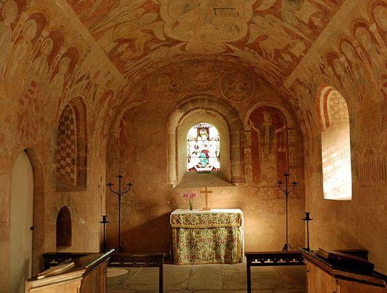 St Mary's Norman Church Kempley,Altar