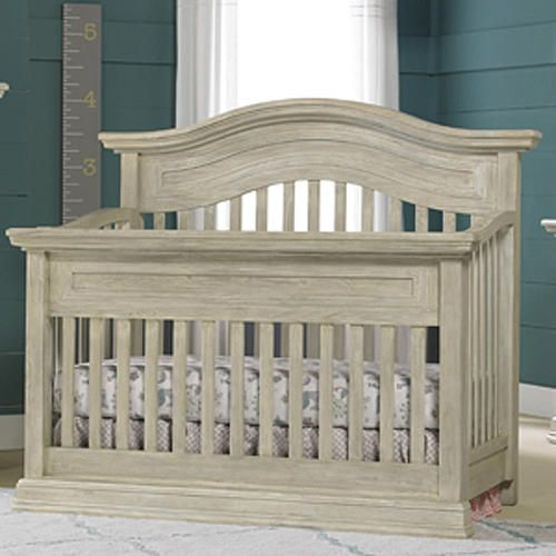 Cosi Bella Luciano Convertible Crib White Washed Pine