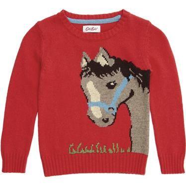 Hello Horsey Jumper, Cath Kidston: Hello Horsey, Girls Vintage, Jumper Cath, Big Sizes, Cath Kidston, Cosy Jumper, Kidston Hello, Horsey Jumper
