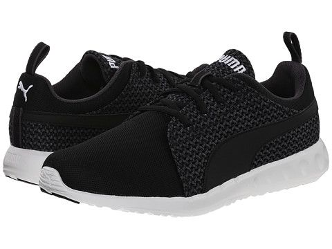 black puma runners