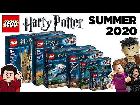 Lego Harry Potter 2020 Summer Sets Revealed In Depth Look Youtube Harry Potter Toys Harry Potter Lego Sets Lego Harry Potter