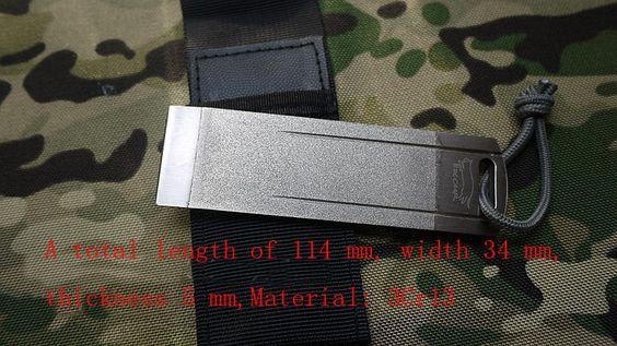 EDCgear Folding Knife Grindstone Portable EDC Tool  Carborundum Knife Sharpener  in Sporting Goods, Outdoor Sports, Camping & Hiking, Emergency Gear, Other Emergency Gear | eBay