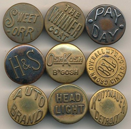 Workwear Buttons