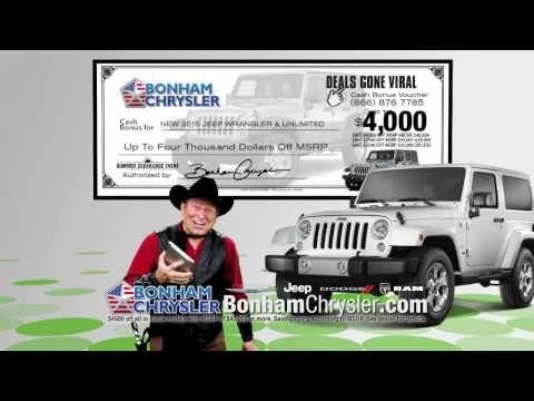 tx cash used bonham at cars dealers ram chrysler dodge sale in corral for jeep