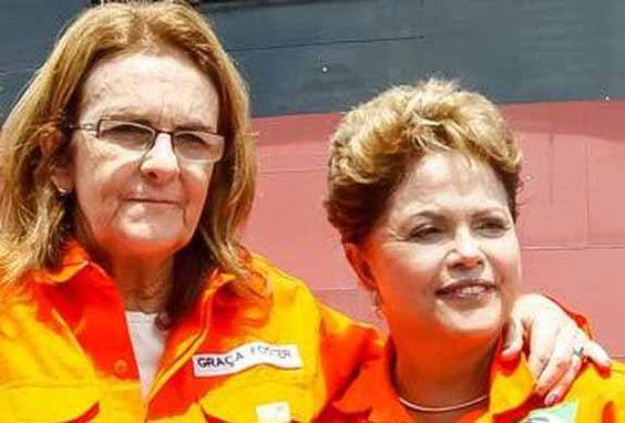 Post  #FALASÉRIO!  : AINDA A PETROBRAS DO PT E DA GRAÇA/DILMA !